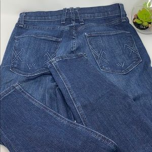McGuire Newton Skinny blue jeans SZ 25 made in LA